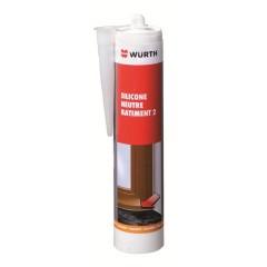 Silicone Neutre Professionnel - BAT 2 - Blanc - 310 ml - Acier, PVC, Beton, Joints-Silicone Neutre Professionnel - BAT 2 - Blanc - 310 ml - Acier, PVC, Beton, Joints-extracteur d'air - gaine - conduits