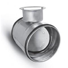 Régulateur Débit / Registre Male - Fermeture Totale avec Joint - diam. 150 mm-Régulateur Débit / Registre Male - Fermeture Totale avec Joint - diam. 150 mm-extracteur d'air - gaine - conduits