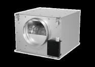 Box Acier Insonorisée RUCK - ISOTX160 - diam. 160 - 375 m3/h - 380x380xH=232 cm