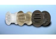 Grille Aération de Porte Plast. - DOSPEL - RD 40 - dim. 40 mm