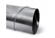Tube Spiro acier galvanisé spiralé - diam. 080 mm - Tube 3 mètres