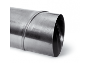 Tube Spiro acier galvanisé spiralé - diam. 100 mm - Tube 3 mètres