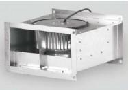 Box Acier Conduit Rect. - DOSPEL - WKS 1500 - dim. 400x200 mm - Débit 1500 m3/h
