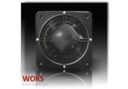 Extracteur d'air Axial Mural - DOSPEL - WOKS PRO 800 - diam. 835 mm - Débit 19000 m3/h