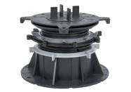Plot PVC réglable Terrasse / Dalle - VersiJack - H=75-150mm