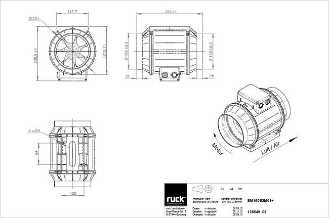 schema-reseau-ventilation-extracteur-centrifuge-ruck-max-fan-pro-series-160-oxygen-industry