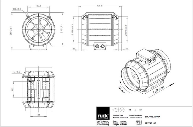 schema-reseau-ventilation-extracteur-centrifuge-ruck-max-fan-pro-series-200-oxygen-industry
