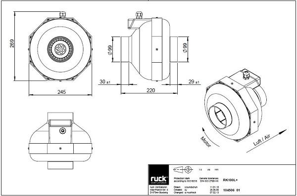 schema-reseau-ventilation-extracteur-centrifuge-ruck-rk100l-oxygen-industry