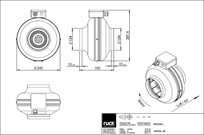 schema-reseau-ventilation-extracteur-centrifuge-ruck-rk125-ls-oxygen-industry