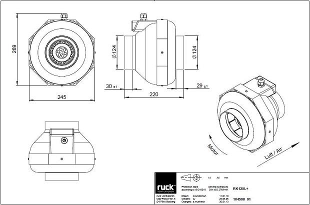 schema-reseau-ventilation-extracteur-centrifuge-ruck-rk125l-oxygen-industry