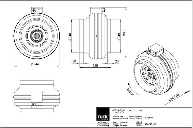 schema-reseau-ventilation-extracteur-centrifuge-ruck-rk250-ls-oxygen-industry