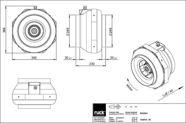 schema-reseau-ventilation-extracteur-centrifuge-ruck-rk250l-oxygen-industry